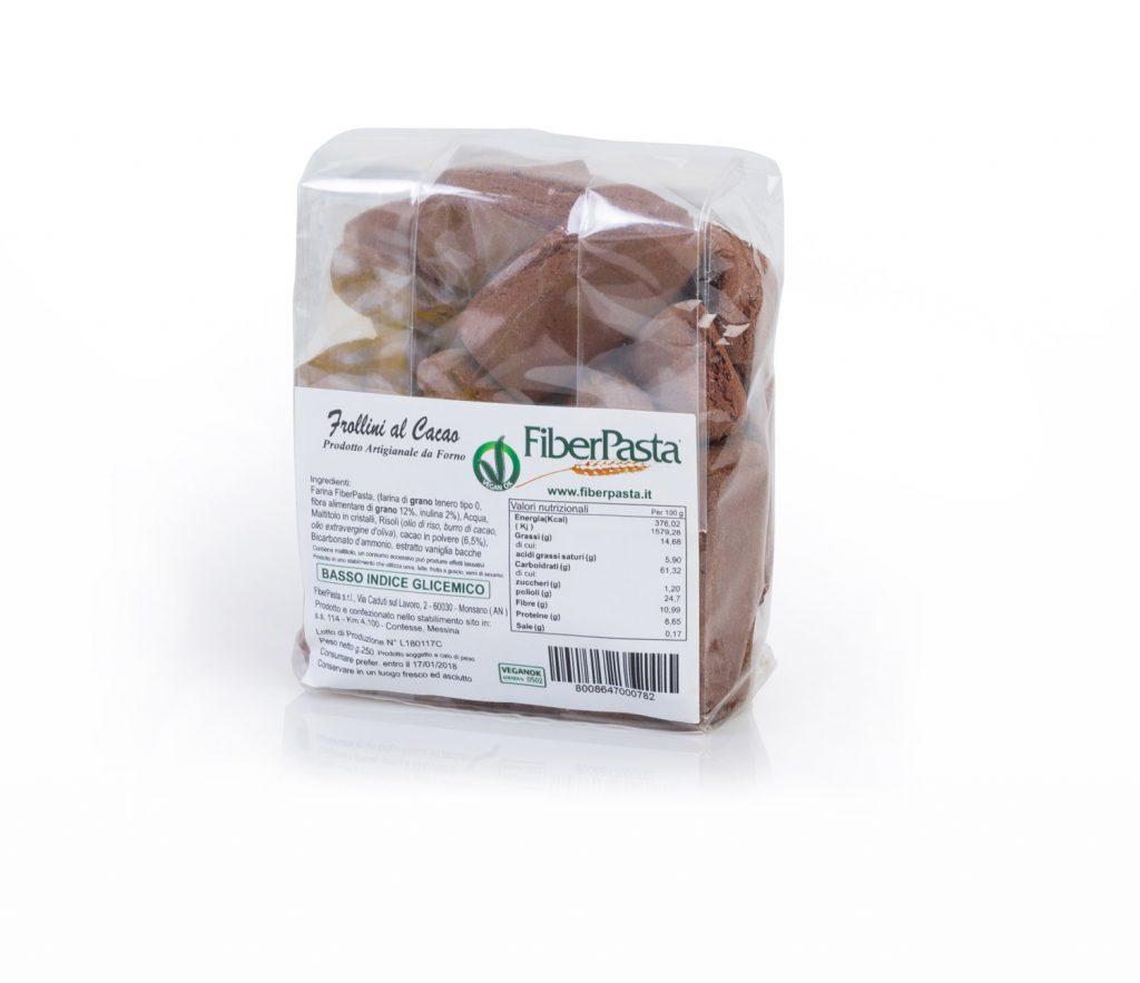 Frollini al Cacao, Basso Indice Glicemico