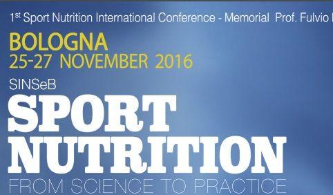 Congresso International Sport Nutrition